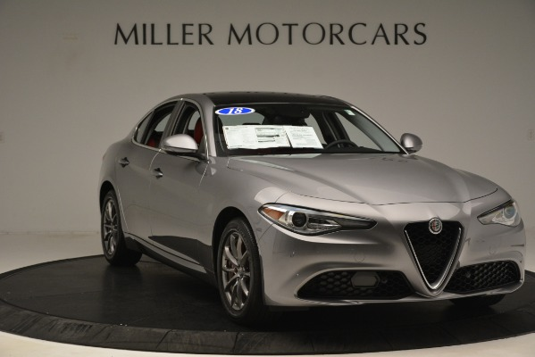 Used 2018 Alfa Romeo Giulia Q4 for sale Sold at Rolls-Royce Motor Cars Greenwich in Greenwich CT 06830 11