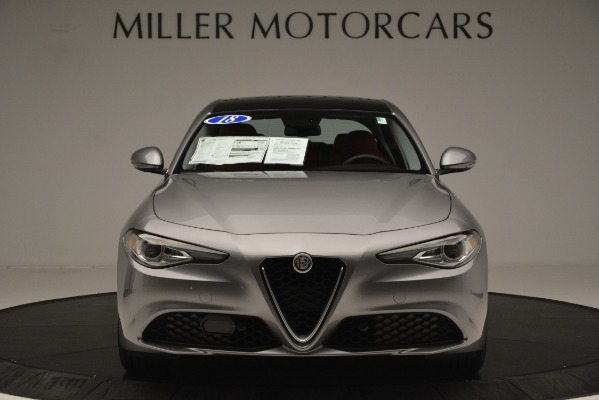 Used 2018 Alfa Romeo Giulia Q4 for sale Sold at Rolls-Royce Motor Cars Greenwich in Greenwich CT 06830 12