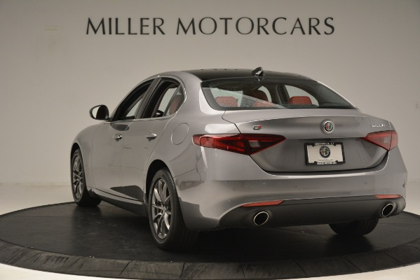 Used 2018 Alfa Romeo Giulia Q4 for sale Sold at Rolls-Royce Motor Cars Greenwich in Greenwich CT 06830 5