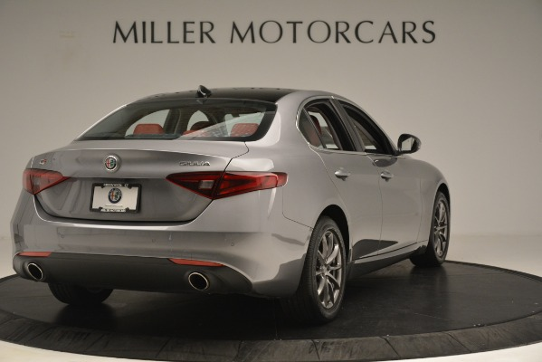 Used 2018 Alfa Romeo Giulia Q4 for sale Sold at Rolls-Royce Motor Cars Greenwich in Greenwich CT 06830 7