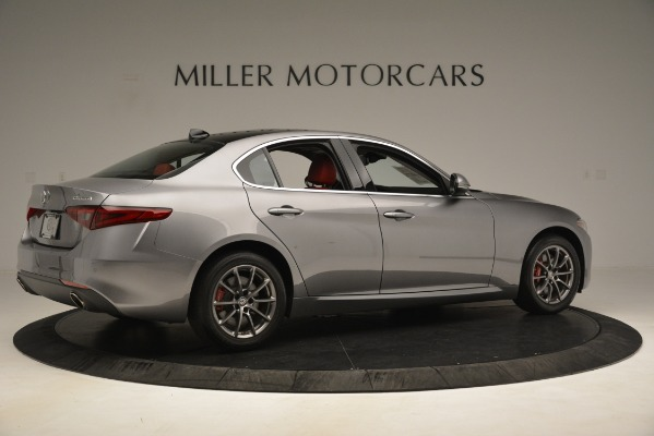 Used 2018 Alfa Romeo Giulia Q4 for sale Sold at Rolls-Royce Motor Cars Greenwich in Greenwich CT 06830 8