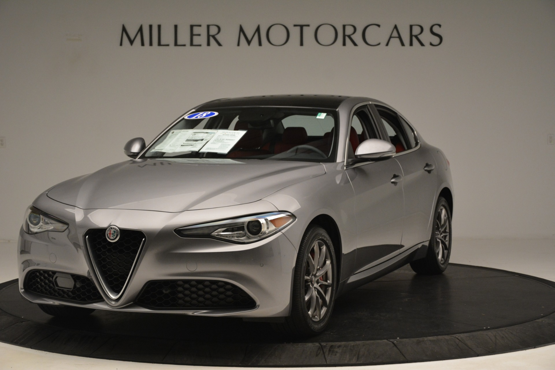 Used 2018 Alfa Romeo Giulia Q4 for sale Sold at Rolls-Royce Motor Cars Greenwich in Greenwich CT 06830 1
