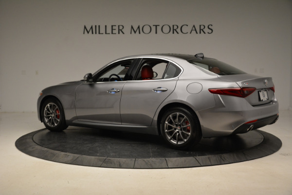 New 2018 Alfa Romeo Giulia Q4 for sale Sold at Rolls-Royce Motor Cars Greenwich in Greenwich CT 06830 4