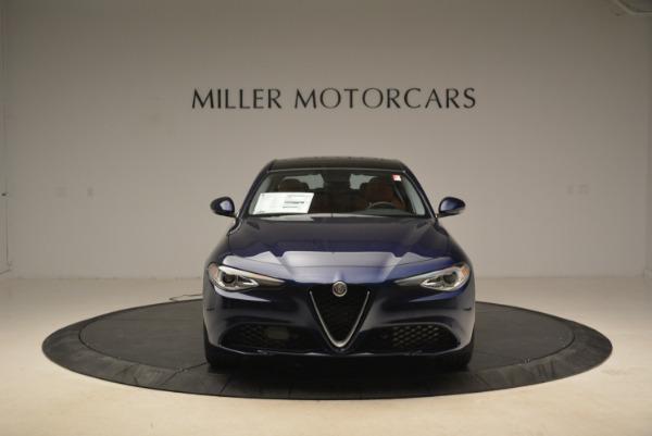 New 2018 Alfa Romeo Giulia Ti Lusso Q4 for sale Sold at Rolls-Royce Motor Cars Greenwich in Greenwich CT 06830 12
