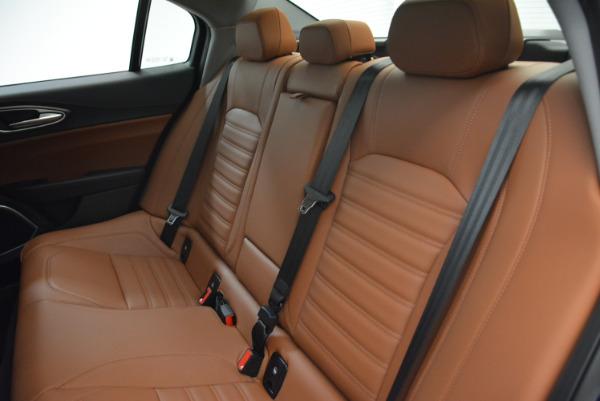 New 2018 Alfa Romeo Giulia Ti Lusso Q4 for sale Sold at Rolls-Royce Motor Cars Greenwich in Greenwich CT 06830 18