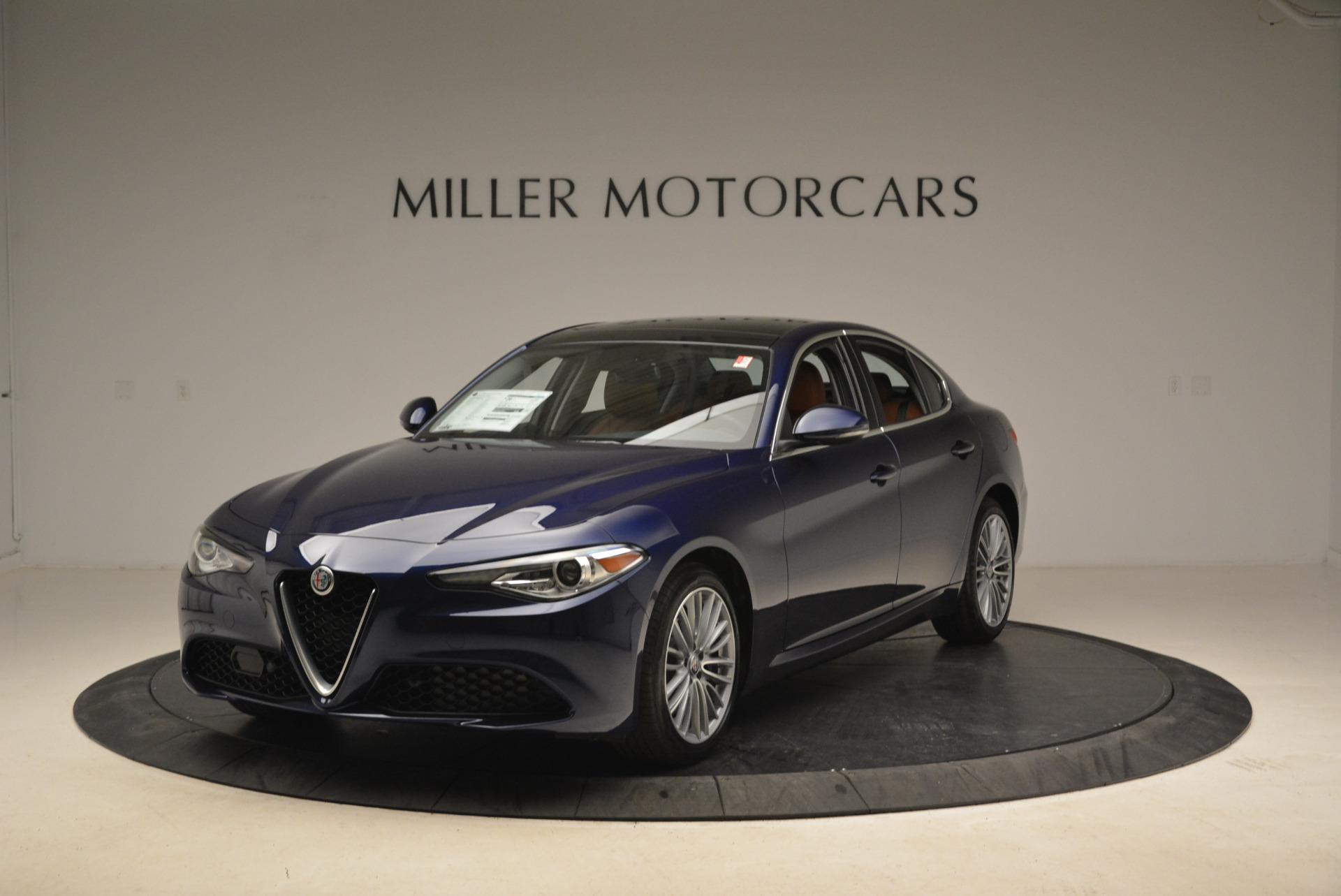 New 2018 Alfa Romeo Giulia Ti Lusso Q4 for sale Sold at Rolls-Royce Motor Cars Greenwich in Greenwich CT 06830 1
