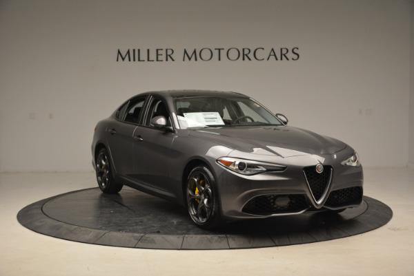New 2018 Alfa Romeo Giulia Ti Sport Q4 for sale Sold at Rolls-Royce Motor Cars Greenwich in Greenwich CT 06830 11