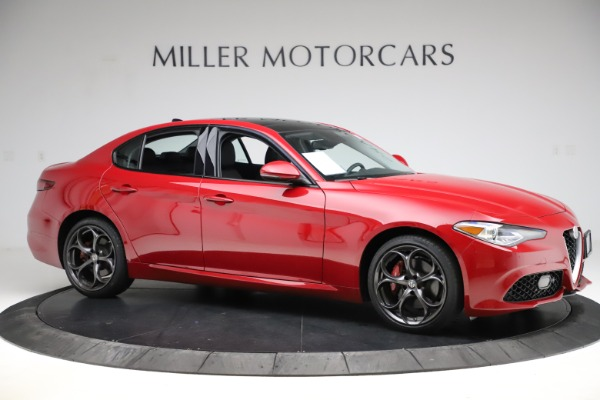 Used 2018 Alfa Romeo Giulia Ti Sport Q4 for sale Sold at Rolls-Royce Motor Cars Greenwich in Greenwich CT 06830 10