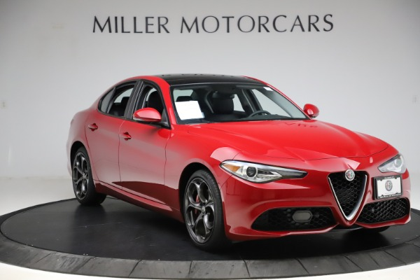 Used 2018 Alfa Romeo Giulia Ti Sport Q4 for sale Sold at Rolls-Royce Motor Cars Greenwich in Greenwich CT 06830 11