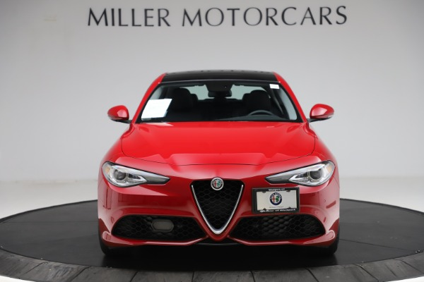 Used 2018 Alfa Romeo Giulia Ti Sport Q4 for sale Sold at Rolls-Royce Motor Cars Greenwich in Greenwich CT 06830 12