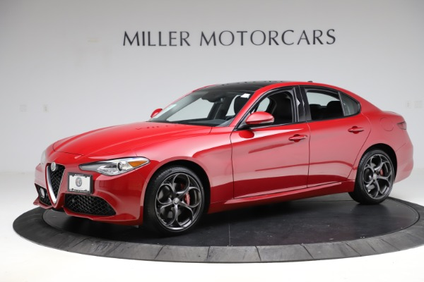Used 2018 Alfa Romeo Giulia Ti Sport Q4 for sale Sold at Rolls-Royce Motor Cars Greenwich in Greenwich CT 06830 2