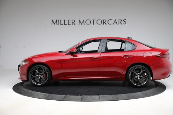 New 2018 Alfa Romeo Giulia Ti Sport Q4 for sale Sold at Rolls-Royce Motor Cars Greenwich in Greenwich CT 06830 3