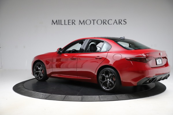 Used 2018 Alfa Romeo Giulia Ti Sport Q4 for sale Sold at Rolls-Royce Motor Cars Greenwich in Greenwich CT 06830 4
