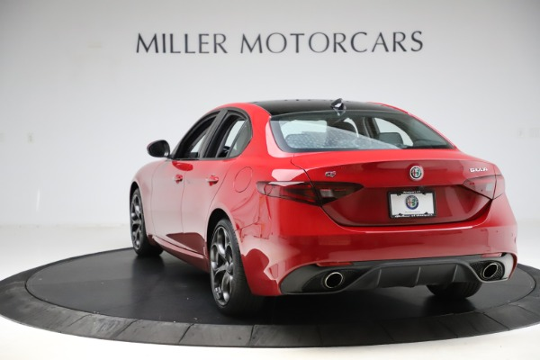 Used 2018 Alfa Romeo Giulia Ti Sport Q4 for sale Sold at Rolls-Royce Motor Cars Greenwich in Greenwich CT 06830 5