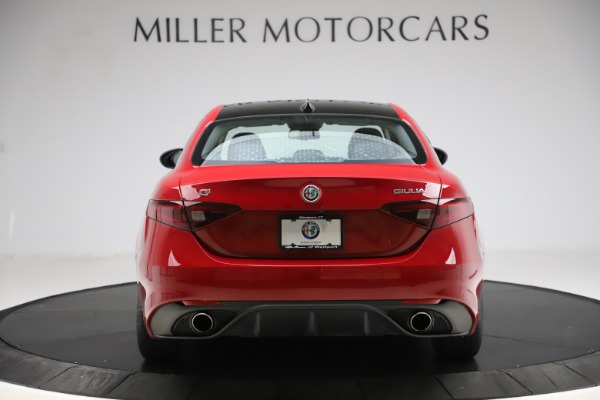 Used 2018 Alfa Romeo Giulia Ti Sport Q4 for sale Sold at Rolls-Royce Motor Cars Greenwich in Greenwich CT 06830 6