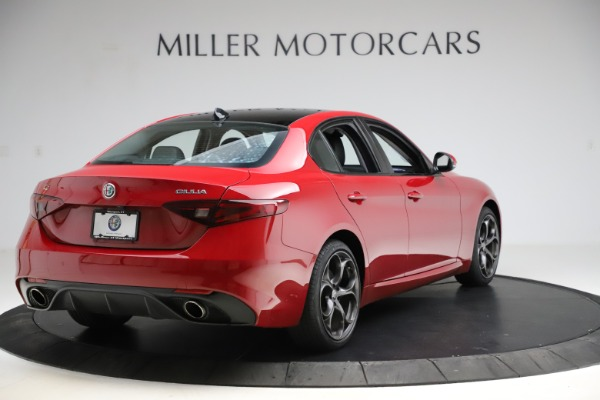 Used 2018 Alfa Romeo Giulia Ti Sport Q4 for sale Sold at Rolls-Royce Motor Cars Greenwich in Greenwich CT 06830 7
