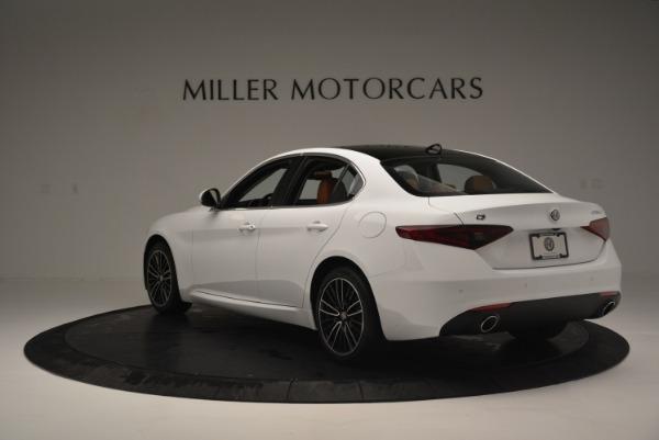 New 2018 Alfa Romeo Giulia Ti Lusso Q4 for sale Sold at Rolls-Royce Motor Cars Greenwich in Greenwich CT 06830 5