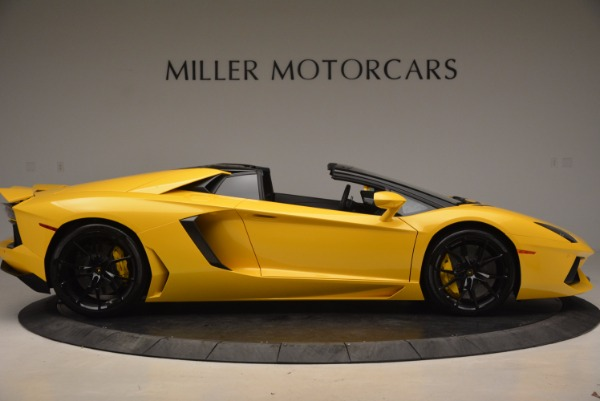 Used 2015 Lamborghini Aventador LP 700-4 Roadster for sale Sold at Rolls-Royce Motor Cars Greenwich in Greenwich CT 06830 10