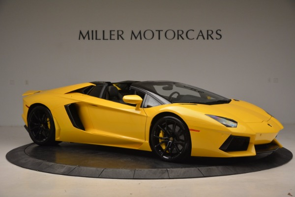 Used 2015 Lamborghini Aventador LP 700-4 Roadster for sale Sold at Rolls-Royce Motor Cars Greenwich in Greenwich CT 06830 11