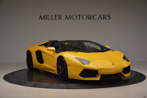 Used 2015 Lamborghini Aventador LP 700-4 Roadster for sale Sold at Rolls-Royce Motor Cars Greenwich in Greenwich CT 06830 12
