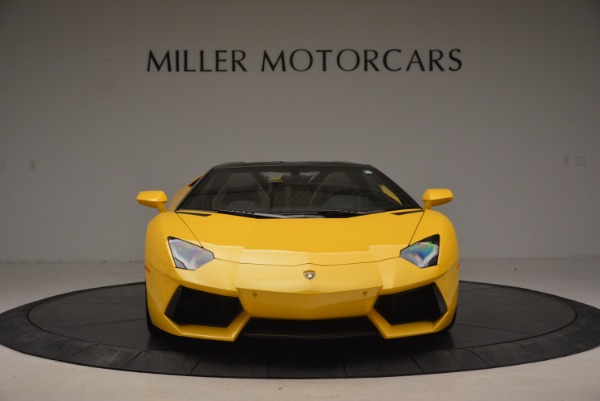 Used 2015 Lamborghini Aventador LP 700-4 Roadster for sale Sold at Rolls-Royce Motor Cars Greenwich in Greenwich CT 06830 13