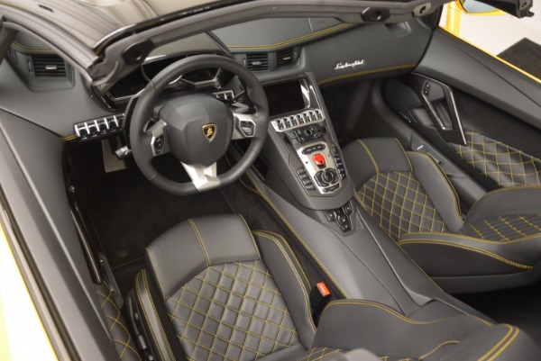 Used 2015 Lamborghini Aventador LP 700-4 Roadster for sale Sold at Rolls-Royce Motor Cars Greenwich in Greenwich CT 06830 14