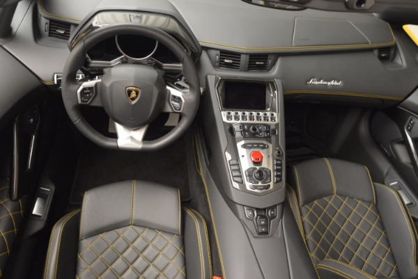 Used 2015 Lamborghini Aventador LP 700-4 Roadster for sale Sold at Rolls-Royce Motor Cars Greenwich in Greenwich CT 06830 16