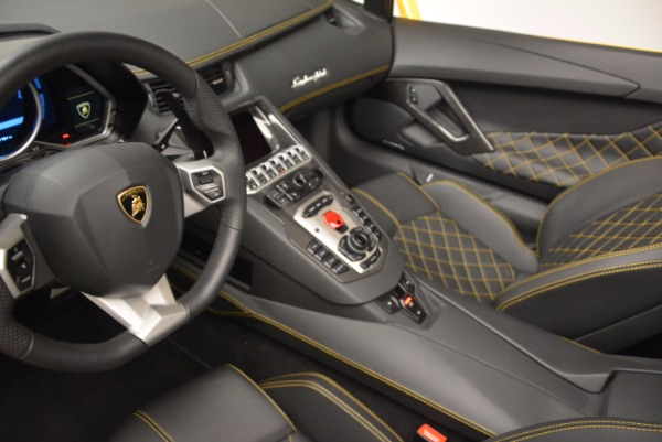 Used 2015 Lamborghini Aventador LP 700-4 Roadster for sale Sold at Rolls-Royce Motor Cars Greenwich in Greenwich CT 06830 19