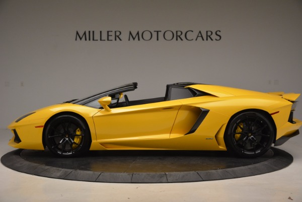 Used 2015 Lamborghini Aventador LP 700-4 Roadster for sale Sold at Rolls-Royce Motor Cars Greenwich in Greenwich CT 06830 3