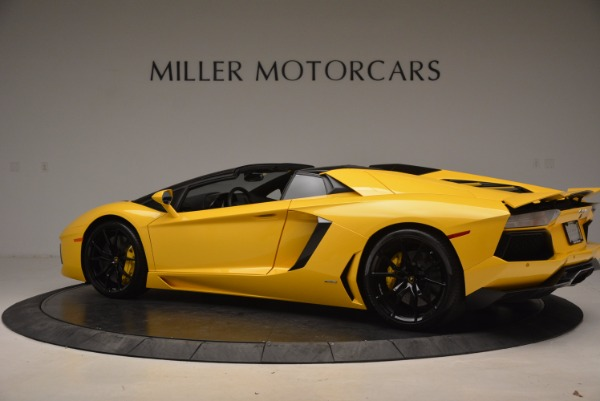 Used 2015 Lamborghini Aventador LP 700-4 Roadster for sale Sold at Rolls-Royce Motor Cars Greenwich in Greenwich CT 06830 4