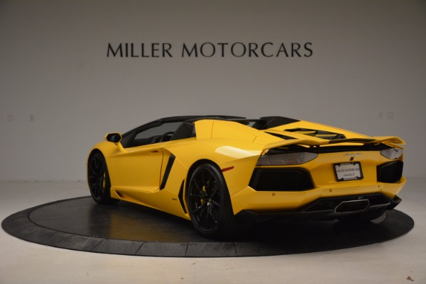 Used 2015 Lamborghini Aventador LP 700-4 Roadster for sale Sold at Rolls-Royce Motor Cars Greenwich in Greenwich CT 06830 5