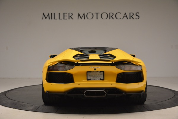Used 2015 Lamborghini Aventador LP 700-4 Roadster for sale Sold at Rolls-Royce Motor Cars Greenwich in Greenwich CT 06830 6