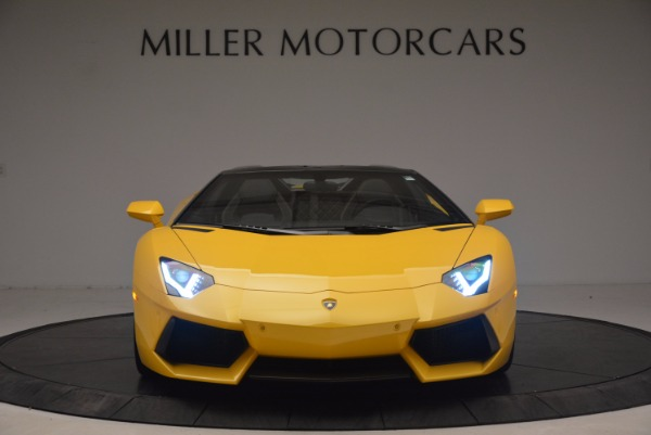 Used 2015 Lamborghini Aventador LP 700-4 Roadster for sale Sold at Rolls-Royce Motor Cars Greenwich in Greenwich CT 06830 7