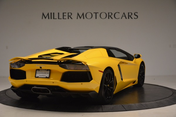 Used 2015 Lamborghini Aventador LP 700-4 Roadster for sale Sold at Rolls-Royce Motor Cars Greenwich in Greenwich CT 06830 8