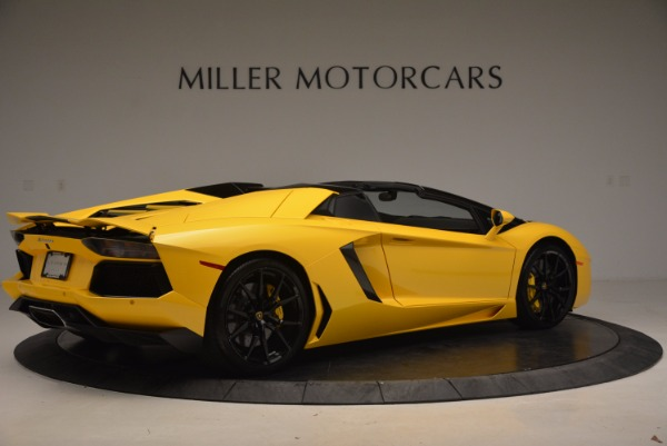 Used 2015 Lamborghini Aventador LP 700-4 Roadster for sale Sold at Rolls-Royce Motor Cars Greenwich in Greenwich CT 06830 9