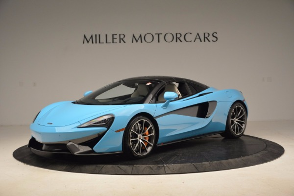 New 2018 McLaren 570S Spider for sale Sold at Rolls-Royce Motor Cars Greenwich in Greenwich CT 06830 24