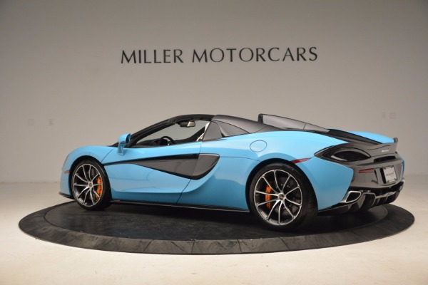 New 2018 McLaren 570S Spider for sale Sold at Rolls-Royce Motor Cars Greenwich in Greenwich CT 06830 4