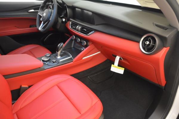 New 2018 Alfa Romeo Stelvio Ti Q4 for sale Sold at Rolls-Royce Motor Cars Greenwich in Greenwich CT 06830 18