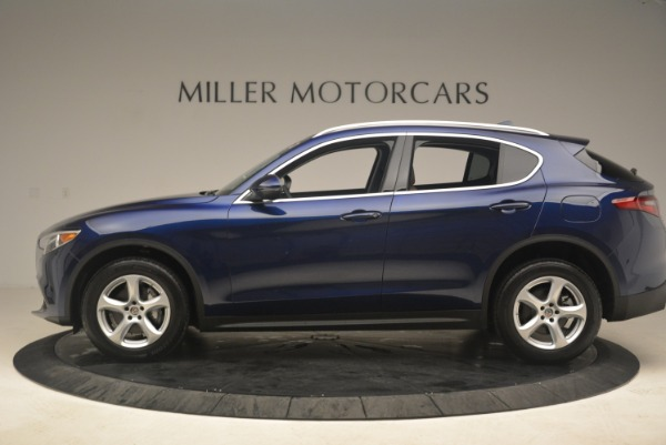 New 2018 Alfa Romeo Stelvio Q4 for sale Sold at Rolls-Royce Motor Cars Greenwich in Greenwich CT 06830 3