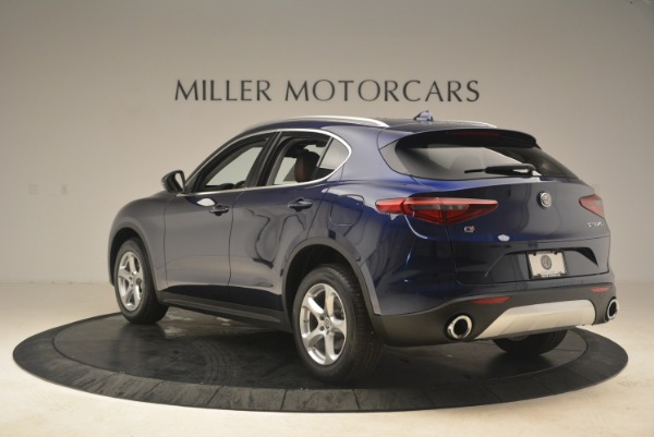 New 2018 Alfa Romeo Stelvio Q4 for sale Sold at Rolls-Royce Motor Cars Greenwich in Greenwich CT 06830 5