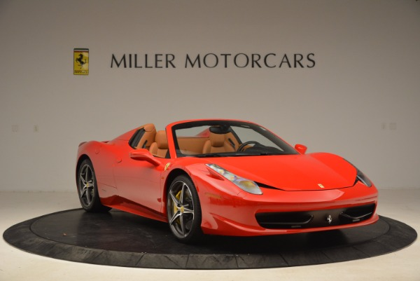 Used 2013 Ferrari 458 Spider for sale Sold at Rolls-Royce Motor Cars Greenwich in Greenwich CT 06830 11