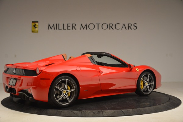 Used 2013 Ferrari 458 Spider for sale Sold at Rolls-Royce Motor Cars Greenwich in Greenwich CT 06830 8
