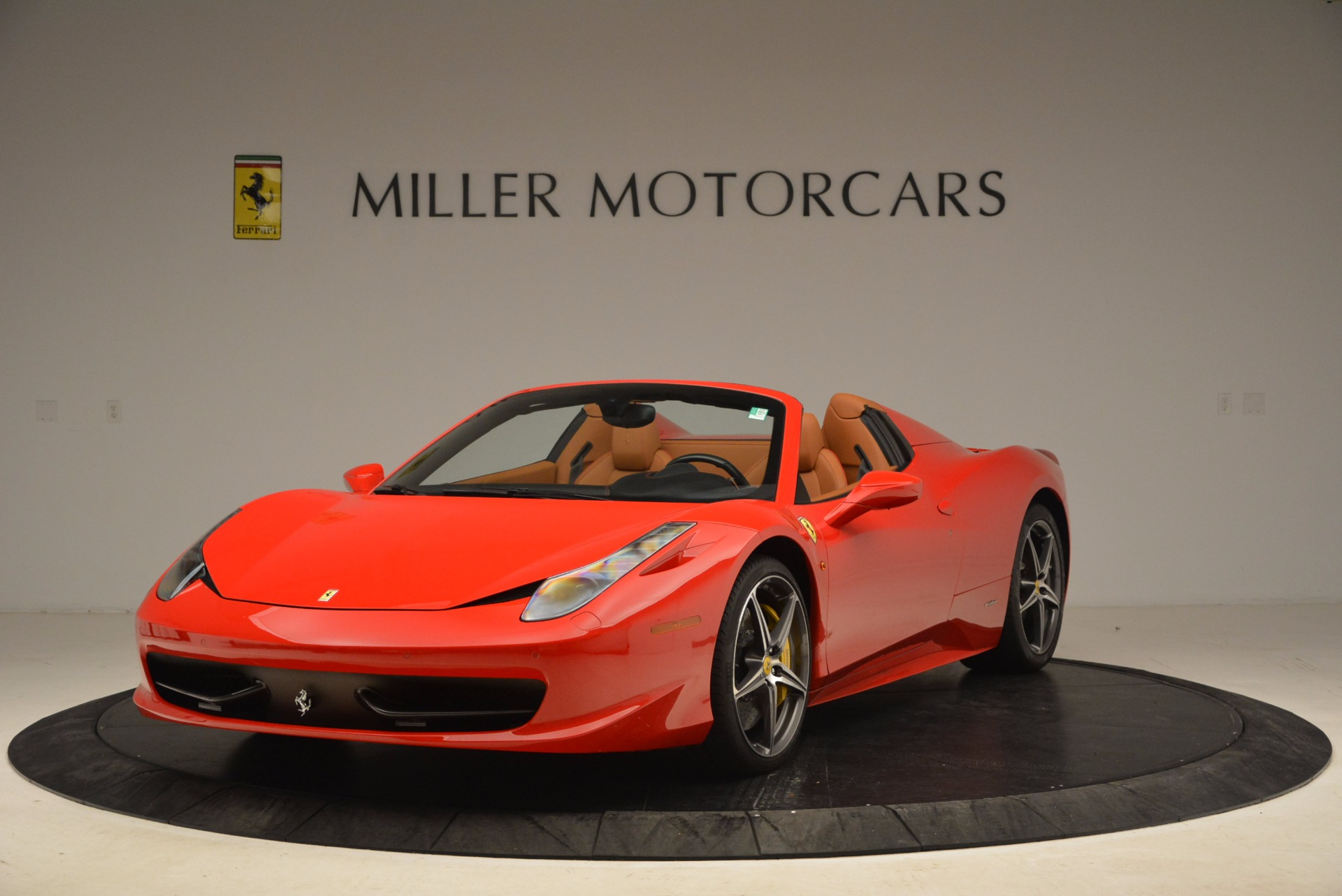 Used 2013 Ferrari 458 Spider for sale Sold at Rolls-Royce Motor Cars Greenwich in Greenwich CT 06830 1