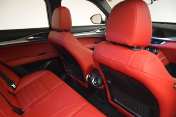 New 2018 Alfa Romeo Stelvio Ti Sport Q4 for sale Sold at Rolls-Royce Motor Cars Greenwich in Greenwich CT 06830 22