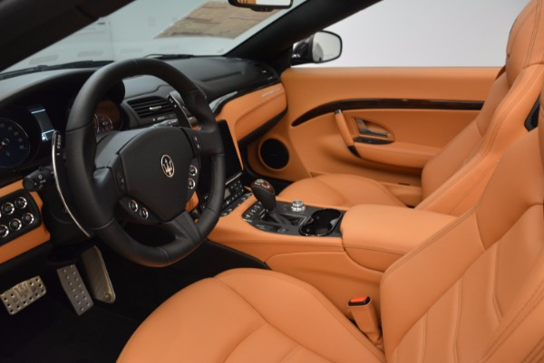 New 2018 Maserati GranTurismo Sport Convertible for sale Sold at Rolls-Royce Motor Cars Greenwich in Greenwich CT 06830 25