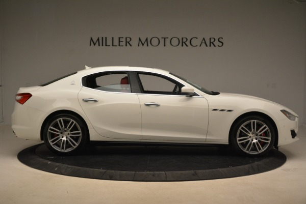 New 2018 Maserati Ghibli S Q4 for sale Sold at Rolls-Royce Motor Cars Greenwich in Greenwich CT 06830 9