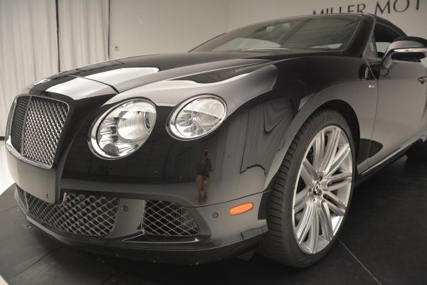 Used 2014 Bentley Continental GT Speed Convertible for sale Sold at Rolls-Royce Motor Cars Greenwich in Greenwich CT 06830 26