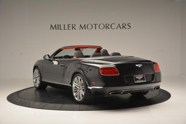 Used 2014 Bentley Continental GT Speed Convertible for sale Sold at Rolls-Royce Motor Cars Greenwich in Greenwich CT 06830 5