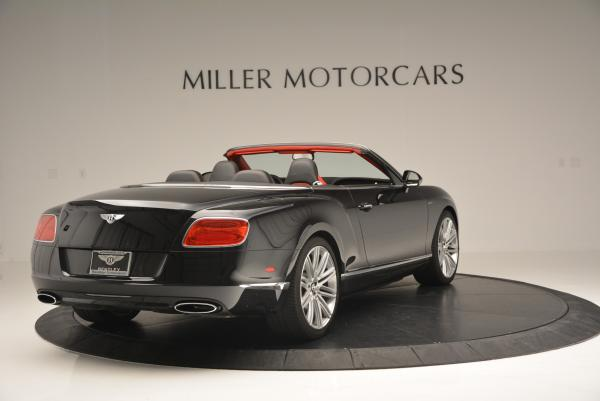 Used 2014 Bentley Continental GT Speed Convertible for sale Sold at Rolls-Royce Motor Cars Greenwich in Greenwich CT 06830 7