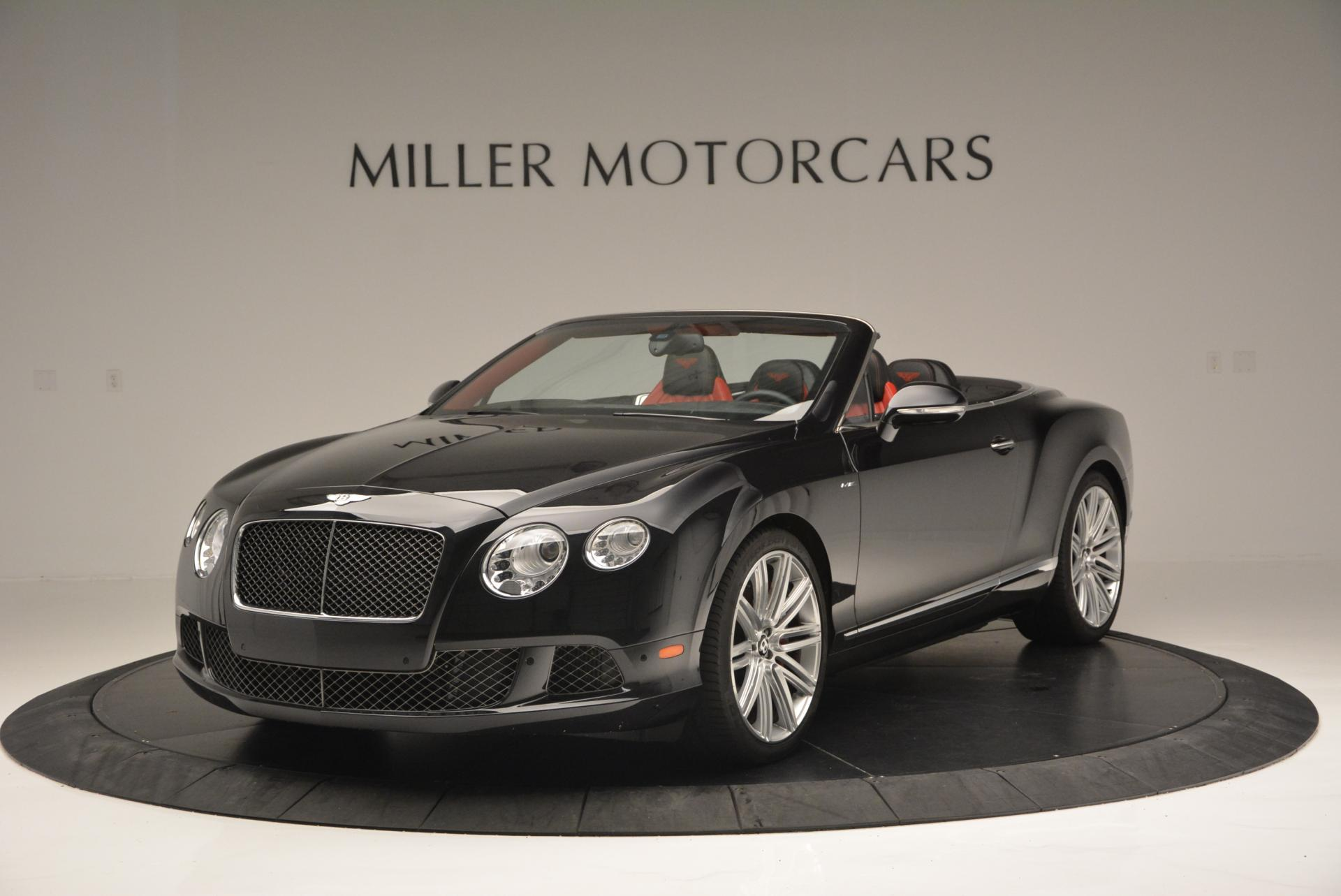 Used 2014 Bentley Continental GT Speed Convertible for sale Sold at Rolls-Royce Motor Cars Greenwich in Greenwich CT 06830 1
